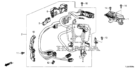 Honda online store : 2018 crv transmission control parts