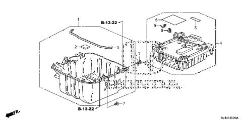Honda online store : 2010 insight ima battery parts