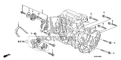Honda online store : 2010 insight auto tensioner parts