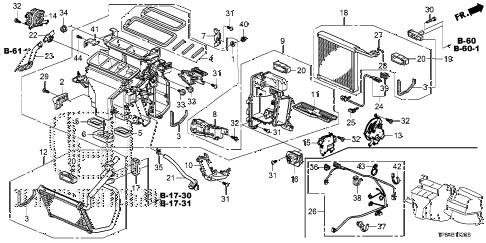 Honda online store : 2012 crosstour heater unit parts