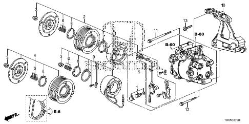 Honda online store : 2012 civic a/c compressor (1.8l) parts