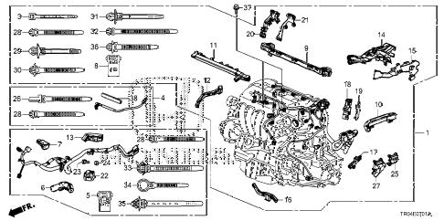 Honda Civic Engine Wiring Harness : 33 Wiring Diagram
