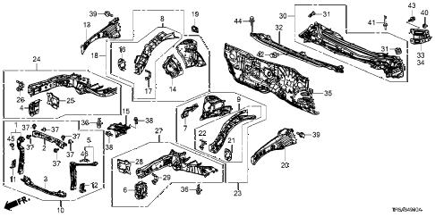 Honda Civic Frame Diagram Ford Explorer Frame Diagram