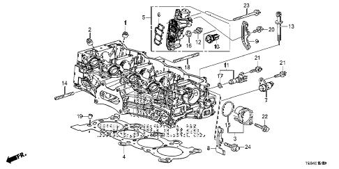 Honda online store : 2012 civic spool valve (1.8l) parts