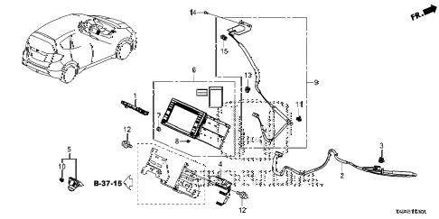 Honda online store : 2013 fit navigation system parts