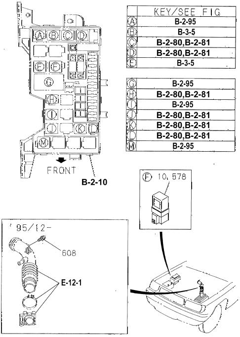 Honda online store : 1994 passport multi-use relay parts