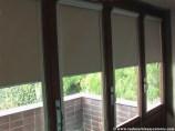Estor guiado con cofre Cristal para ventanas abatibles