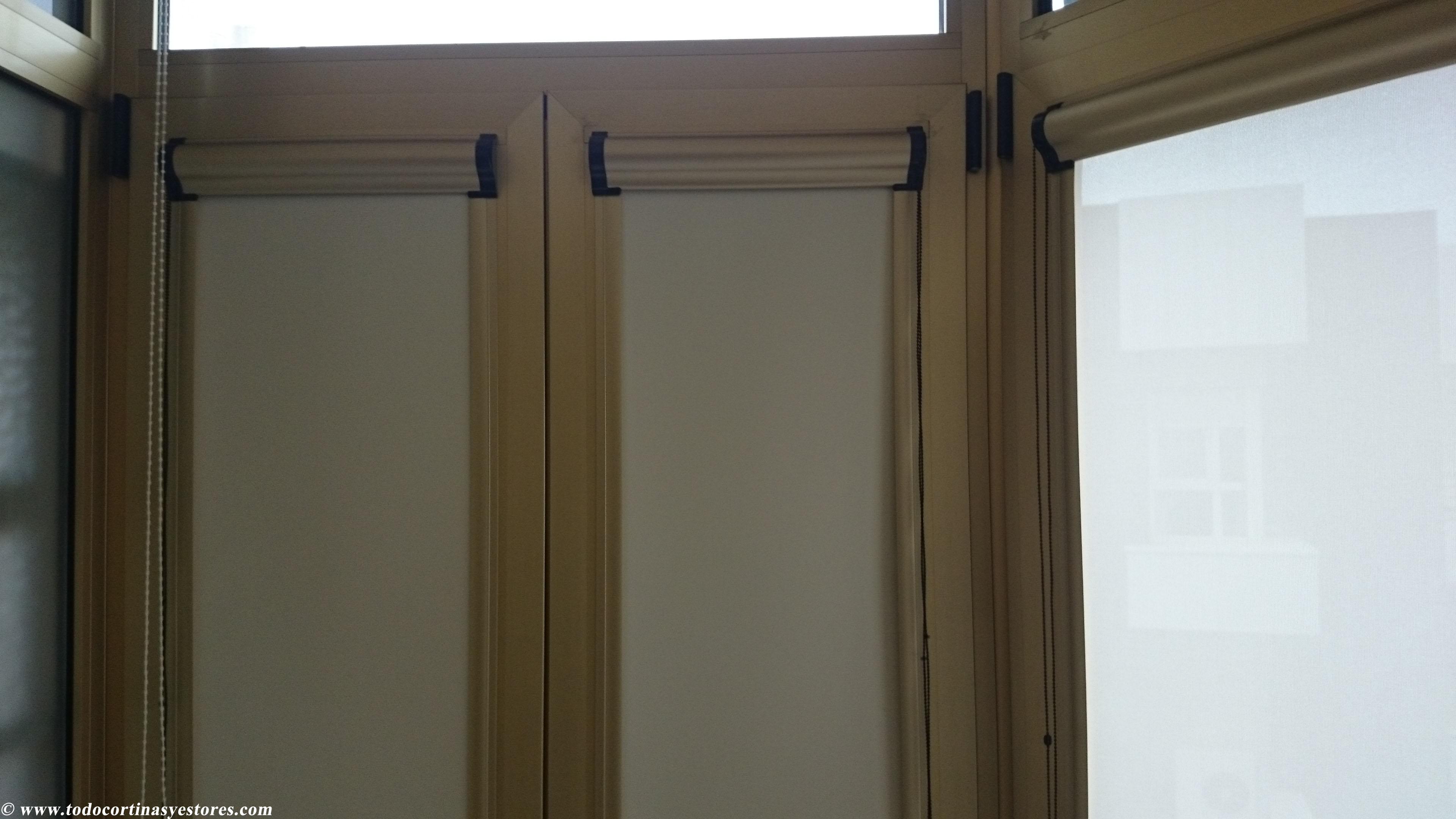 estor para ventanas abatibles  El blog de decoracin interior