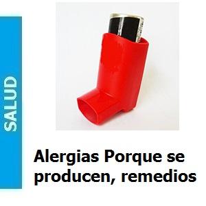 Alergias porque se producen