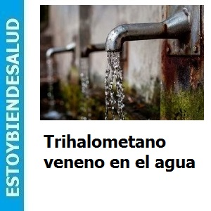 Trihalometano veneno en el agua