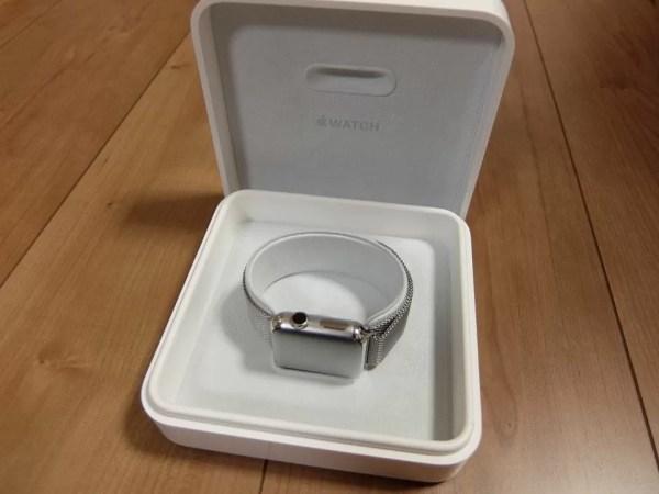 宝石箱のような高級感も魅力の「Apple Watch」