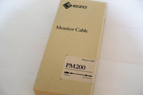 Mini DisplayPort/DisplayPortモニターケーブル(PM200)