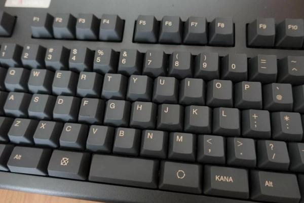 一般的なキー配列が一番使いやすい