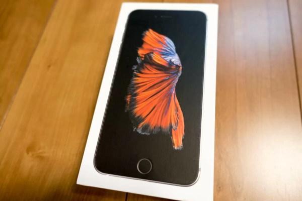 US版SIMフリーiPhone 6s Plus表面