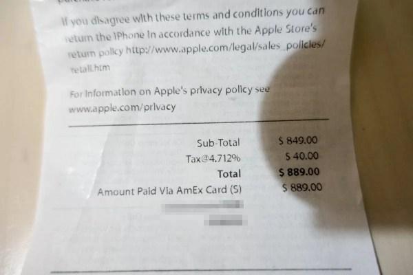 価格は$889