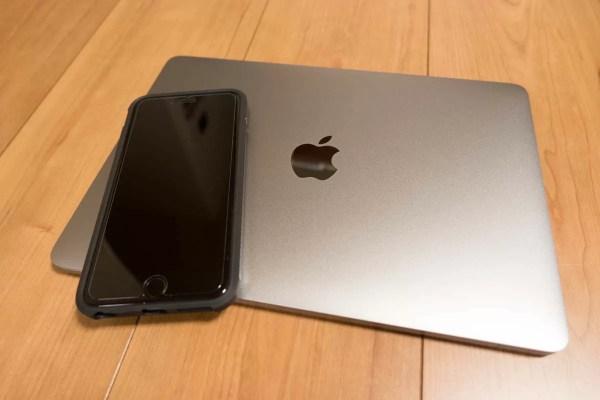 iPhone 6s Plusと並べてみた
