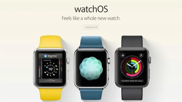 watch OS 3