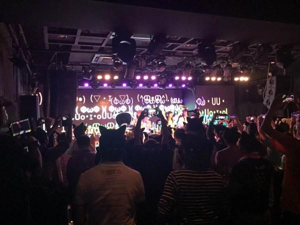 アイドルライブはライブハウスからステップアップ