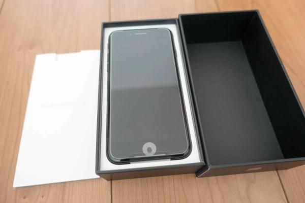 いよいよiPhone 7ジェットブラック登場