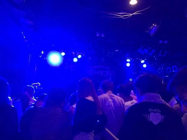 ライブ開始前