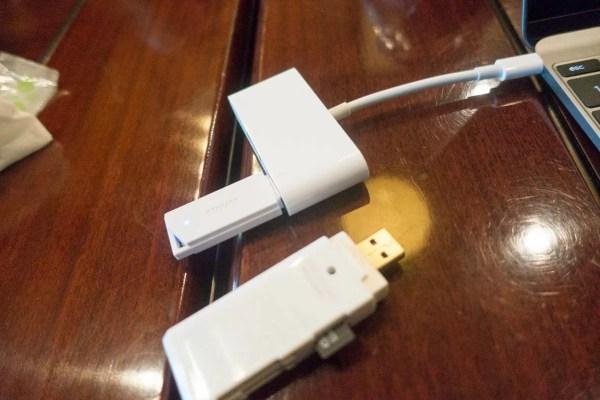 MacBookとmicroSDでデータ取り込み