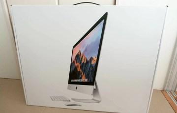 iMacの箱