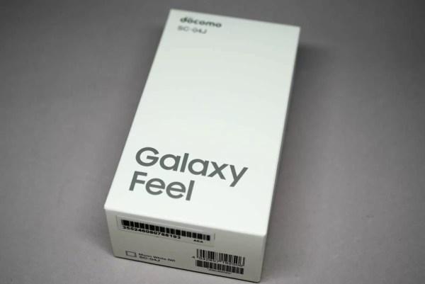 登場しましたGalaxy Feel「SC-04J」