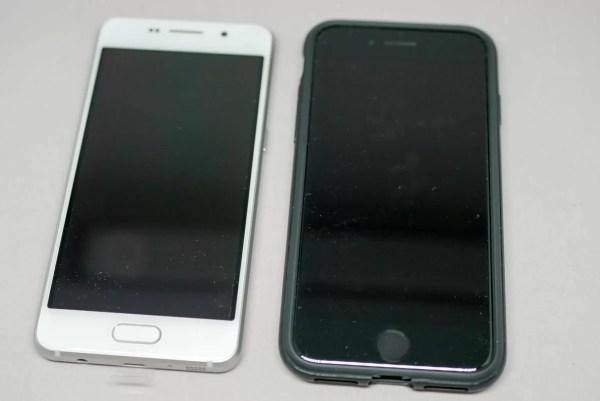 iPhone 7との比較