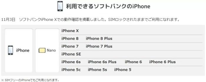 【格安SIM比較】SoftbankiのiPhoneSIMロック解除不要