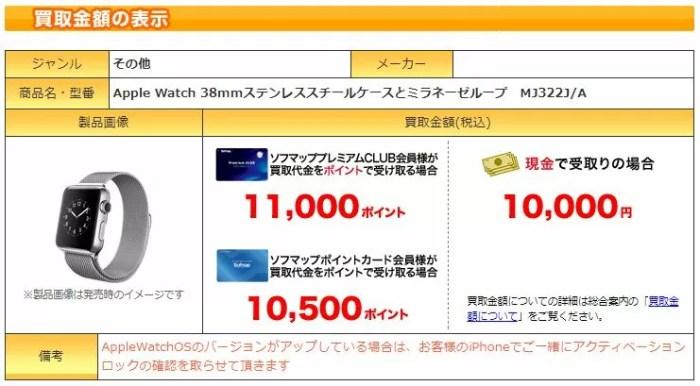 ソフマップの買い取り価格