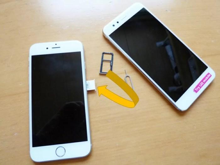 【トライアル到着】トライアルSIMをiPhone 6sへ