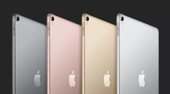 iPad のストレージ構成