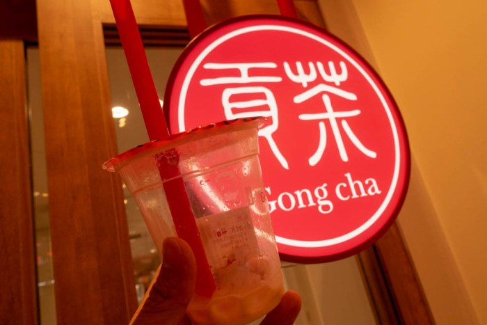 「Gong cha(ゴンチャ)」を制覇