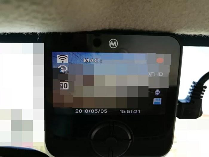 MUSON(ムソン) ドライブレコーダー 1080P NOTE1 エンジン始動と同時に本体の電源は入る