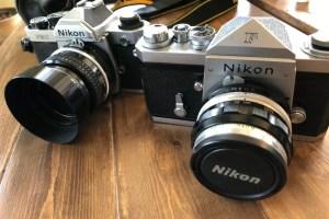 ニコンのフィルムカメラ