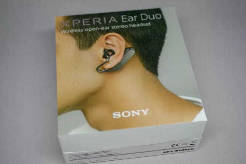 発売日に購入したXperia Ear Duo