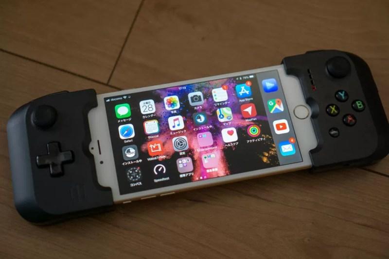 iPhone 6 Plusに装着