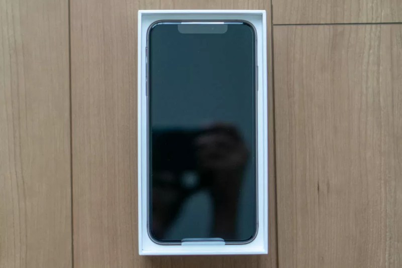 iPhone XS Maxにご対面