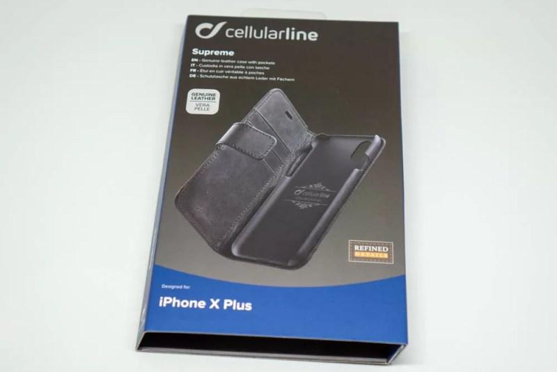Cellularline「SUPREME」パッケージ表面