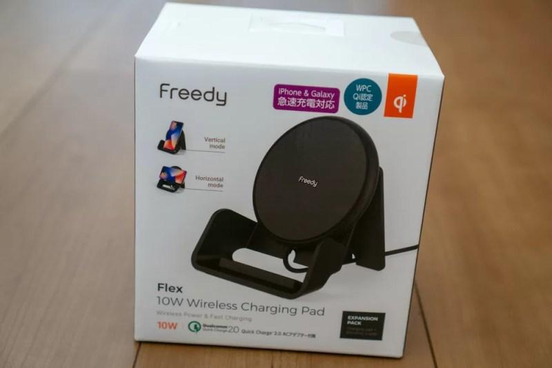 「Flex 10Wワイヤレス充電パッド EA1201S」のパッケージ