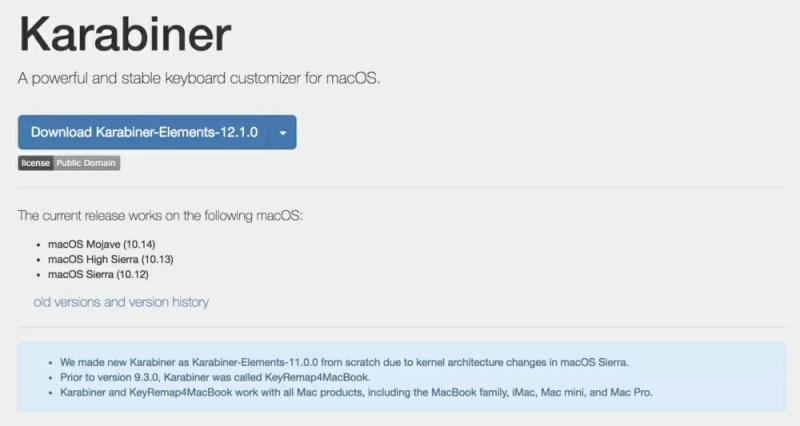 Macのキーボードカスタマイズ定番ソフト「Karabiner」