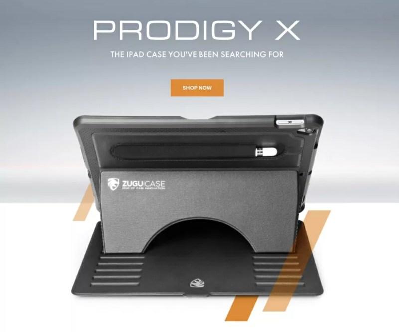 「ZUGU CASE The Prodigy Xシリーズ iPadケース」