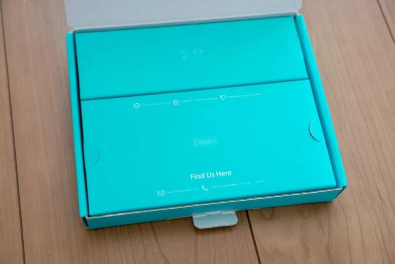 開封すると、箱が2つある