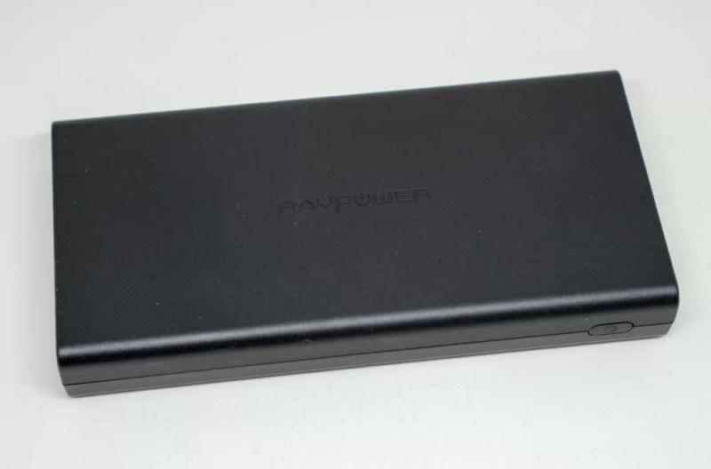 RAVPower 20100mAhモバイルバッテリー(RP-PB159)」本体