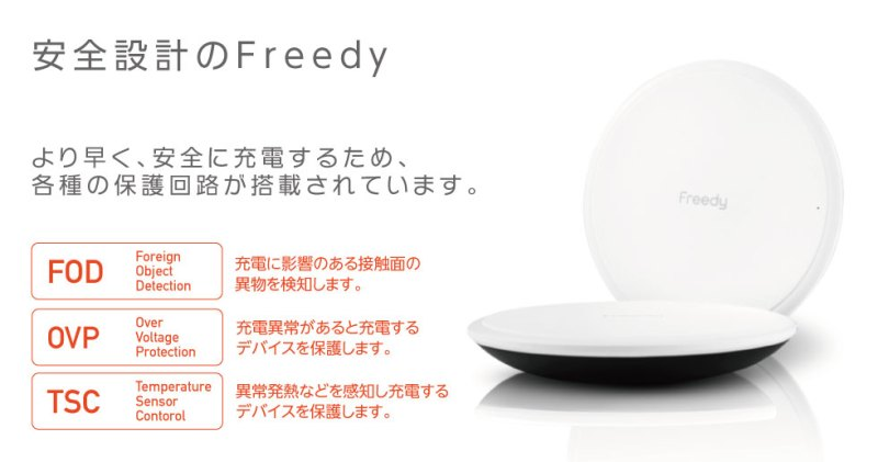Freedy 15W FAST Wireless Charging Pad