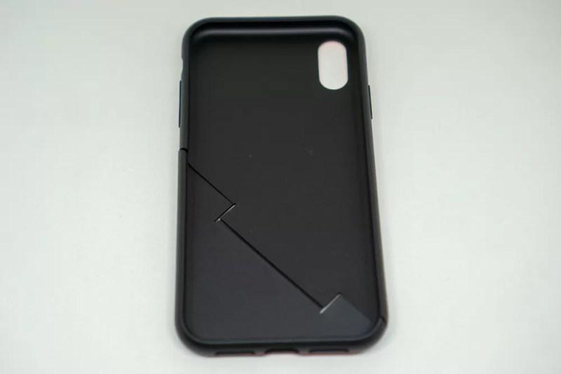 campino iPhone XRケース「OLE stand」の内部