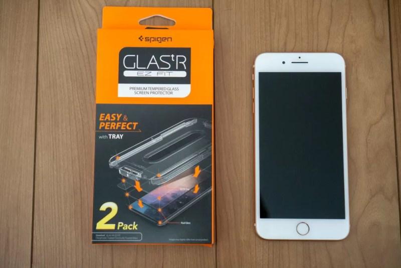 iPhone 8・iPhone 7用「Glas.tR EZ Fit」