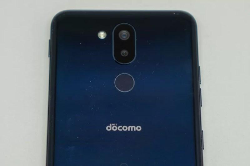カメラはデュアル、指紋認証センサーは背面にある
