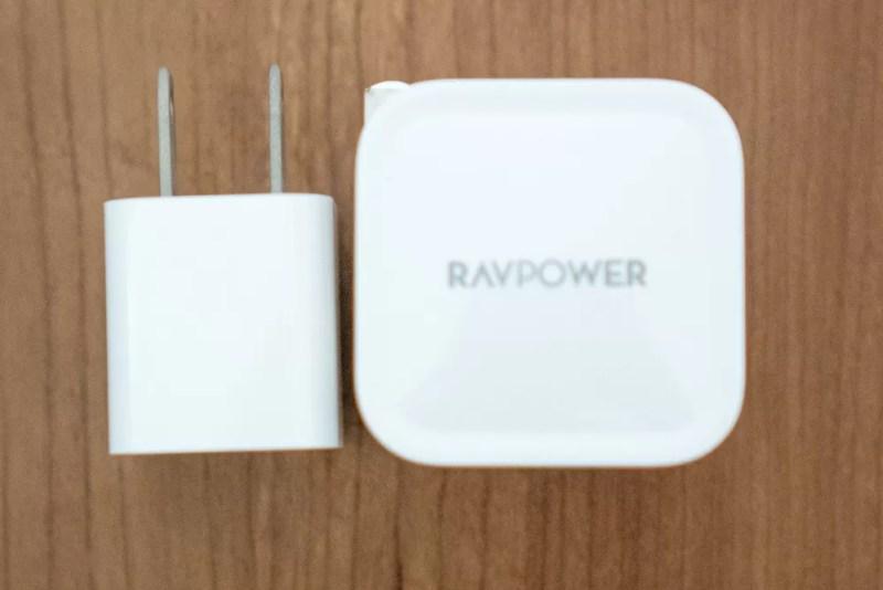 5W充電器との比較