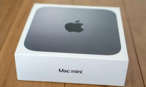 Mac mini 2018パッケージ